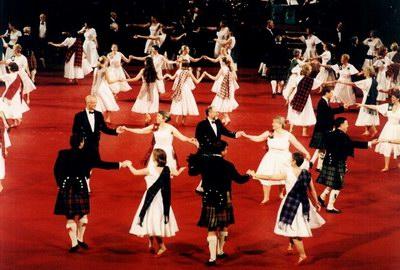Шотландские бальные танцы.