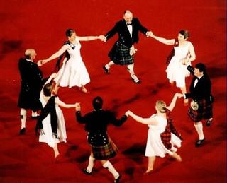 Шотландские бальные танцы. Построения.