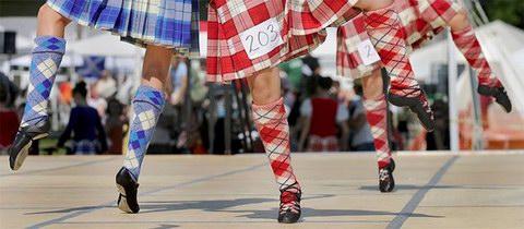 Шотландские бальные танцы. Техника и шаги.