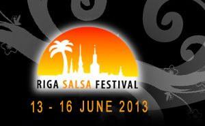 Международный фестиваль сальсы в Риге.
