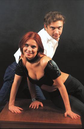 Дмитрий Тимохин и Анна Безикова.