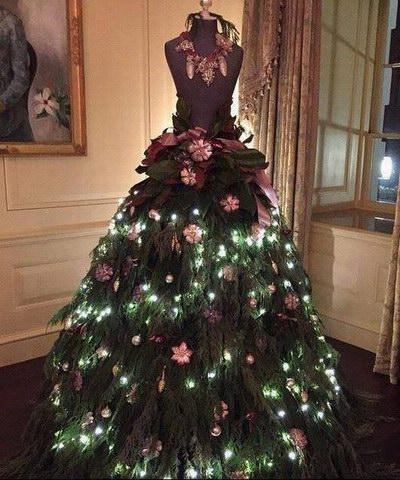 Просто крутая елка.