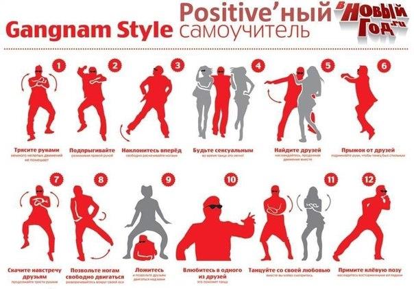 Как танцевать Гангнам стайл.