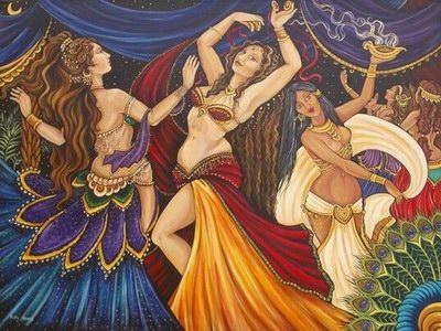 Танец живота, чарующий и гипнотичный.